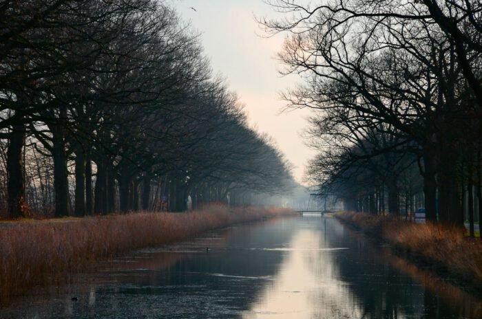 Het kanaal van Apeldoorn naar Dieren
