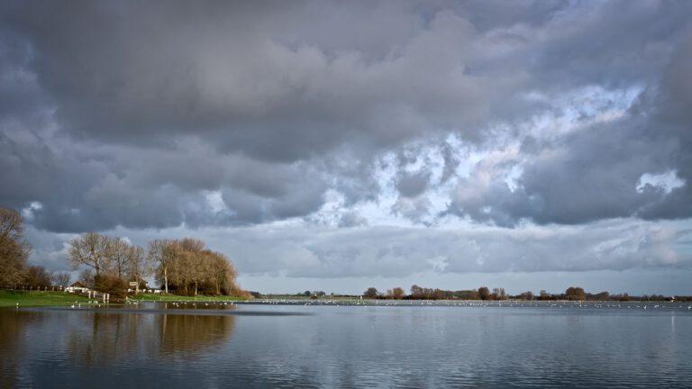 Hoogwater in de IJssel
