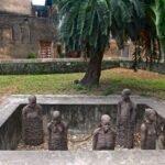 Monument van Clara Sörnäs ter herdenking van de afschaffing van de slavernij ter herinnering aan de slavernij.