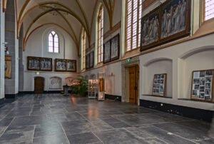 Zijbeuk van de St. Jans kerk in Zutphen