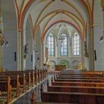 Hoofdbeuk van de St. Janskerk in Zutphen