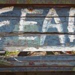 Graffiti op een spoorwegwagon