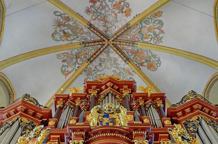 Het orgel van de Walburgiskerk in Zutphen