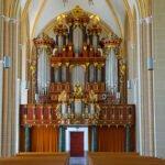 Het Hendrick Bader orgel in de Walburgiskerk in Zutphen