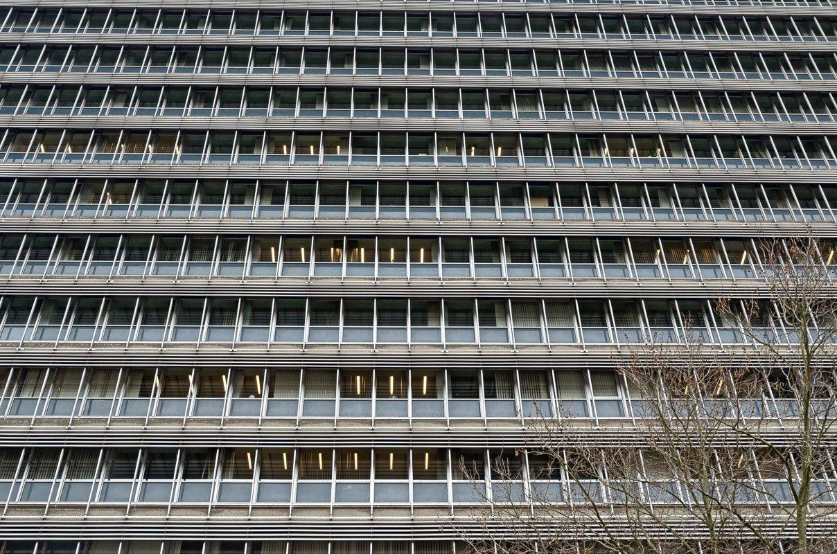 Saaie kantoren: het Willem C. van Unnik gebouw in Utrecht