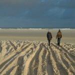 Op het strand van Terschelling