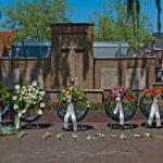 Kransen ter herderking van de slachtoffers van de tweede wereldoorlog