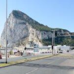 Stoplichten voor de landingsbaan van het vliegveld van Gibraltar