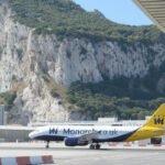 Er landen echt vliegtuigen op het vliegveld van Gibraltar.