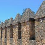 Kantelen van Alcázar de los Reyes Cristianos in Cordoba