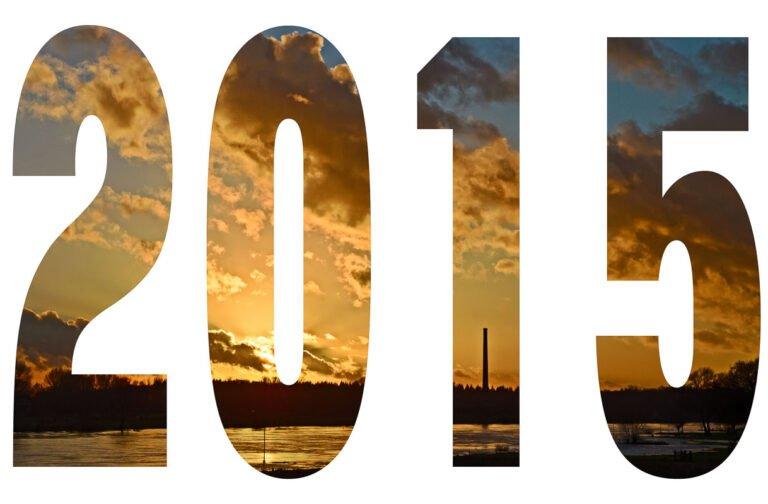 Goede voornemens - het jaar 2015 met een gouden randje