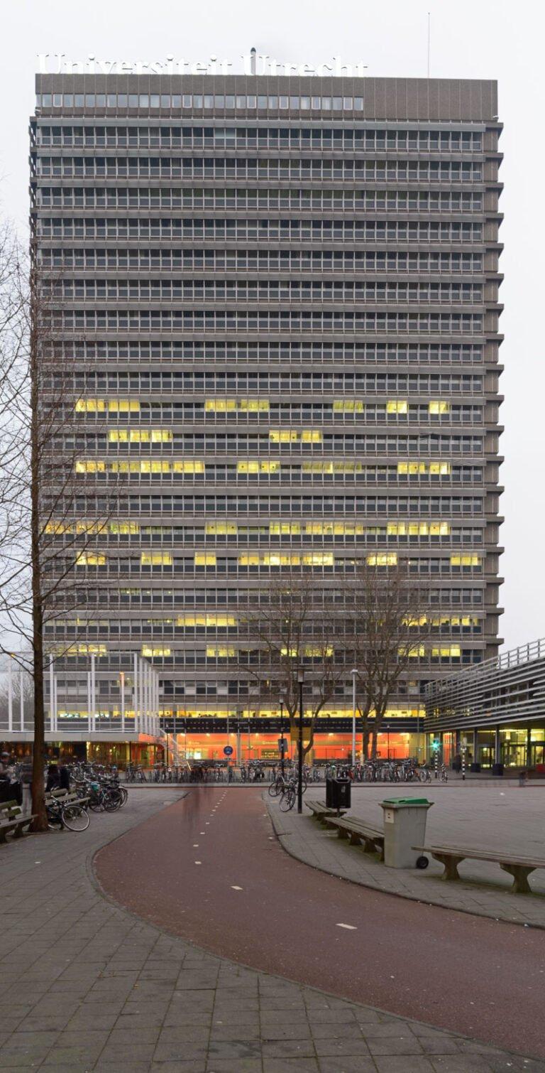 De Uithof met het Willem C. van Unnikgebouw in Utrecht