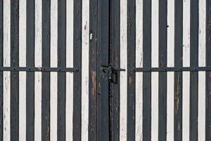 Voor gesloten deuren: deze garagedeur is dicht