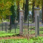 Een hek van havezathe Voorstonden