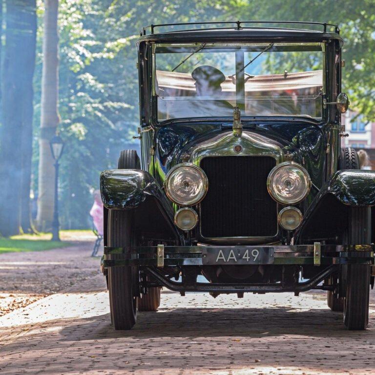Schone motoren waren er in 1925 nog niet.