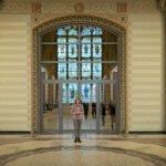 Ingang naar de eregallerij van het Rijksmuseum