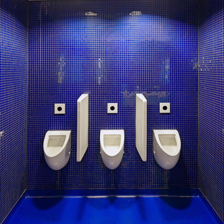 De sanitaire voorzieningen van het Fries Museum